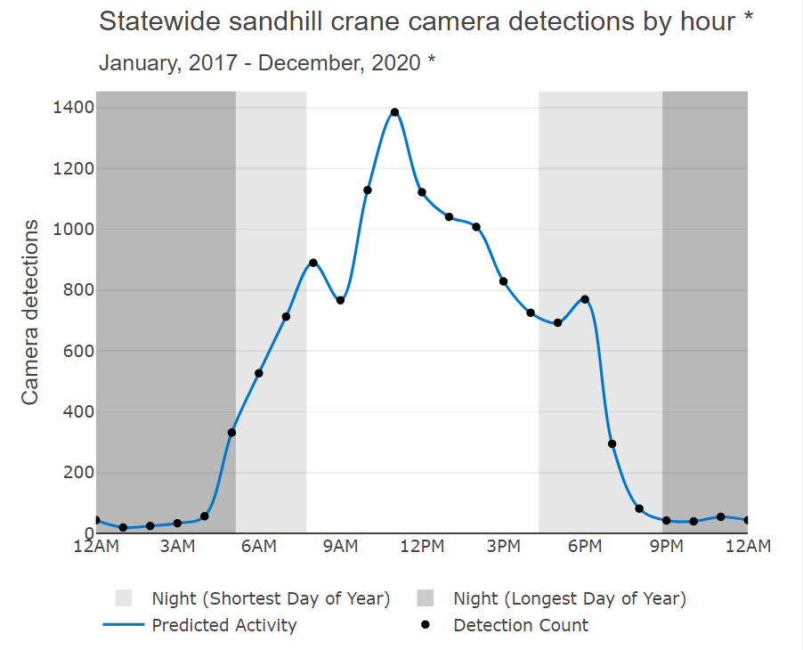 Activity by Hour_Sandhill Crane
